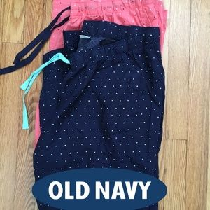 Old Navy 2-Polka Dot Pajama Pants size XL
